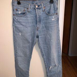 Levi's 501s Skinny